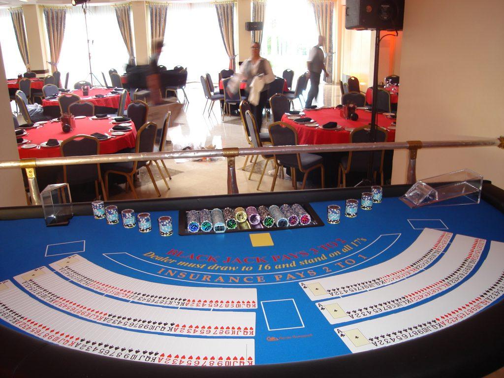 BlackJack Alquiler de mesas