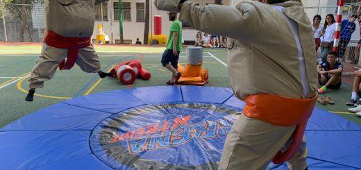 Alquiler de hinchables en Madrid (Sumo robot)