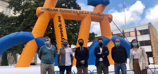 Hinchables Oviedo Semana de la Movilidad